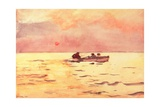 Rowing Home  1890