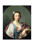 Portrait of Flora Macdonald  18th Century