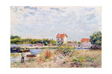 The Loing at Saint-Mammes  1885