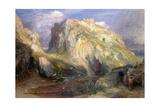 Tintagel Castle  Approaching Rain  19th Century