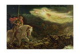 Sir Galahad - the Quest of the Holy Grail  1870