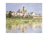 The Church at Vetheuil  1880