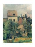 Moulin De La Couleuvre at Pontoise (Detail) 1881
