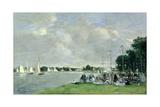 Regatta at Argenteuil  1866