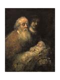 Simeon in the Temple  1669