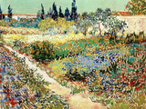 The Garden at Arles  1888