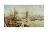 Opening of Tower Bridge  1894
