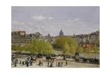 Quai Du Louvre  Paris  1866-67