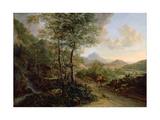 Italian Landscape  C1637-41