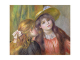 Portrait of Two Girls  C1890-92