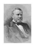 General Ulysses Simpson Grant  Engraved from a Photograph  Illustration from 'Battles and Leaders…