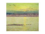 Sunset Ironbound  Mount Desert  Massachusetts  1896