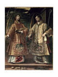 St Lawrence and St Stephen  1580