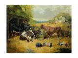 Farmyard Scene  1853
