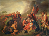 The Death of General Wolfe (1727-59)  C1771