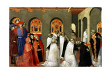 The Miracle of the Holy Sacrament  from the Predella of the Altar of the Holy Eucharist  1423