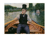 Rower in a Top Hat  C1877-78
