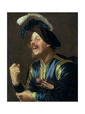 The Laughing Violinist  1624