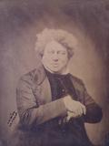 Portrait of Alexandre Dumas Pere (1803-70) C1850-60