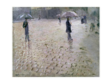 Study for a Paris Street  Rainy Day  1877
