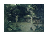 Scene from 'A Midsummer Night's Dream'  1832