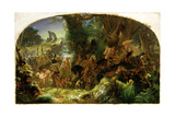 The Fairy Raid: Carrying Off a Changeling - Midsummer Eve  1867