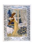 Poster Advertising 'Eau De Lubin'  C1900