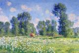 Effect of Spring, Giverny, 1890 Reproduction d'art par Claude Monet