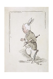 William Archibald Spooner (1844-1930) as the White Rabbit