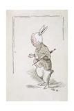 William Archibald Spooner (1844-1930) as the White Rabbit