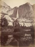 Yosemite Falls  Usa  1861-75
