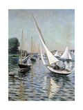 Regatta at Argenteuil  1893