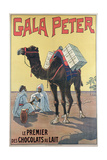Poster Advertising 'Gala-Peter' Chocolate