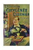 Poster Advertising 'Oxygenee Cusenier Absinthe'