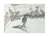 Au Cirque: Chevaux En Liberte  1899