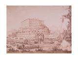 The Disembarking of Princess Leopoldine  1817