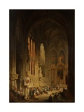 Interior of a Cathedral  1822 or 1829