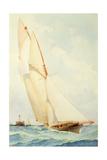 Schooner under Sail