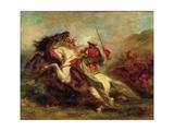 Collision of Moorish Horsemen  1843-44