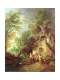 The Cottage Door  1780s