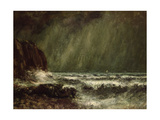 Storm at Sea  1865