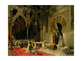 Interior of the Mosque at Cordoba  C1880