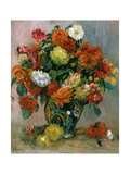 Vase of Flowers  C1884