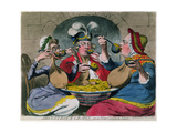 Monstrous Craws at a New Coalition Feast  Published by SW Fores in 1787