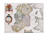 Map of Ireland  1635