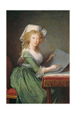 Marie-Louise of Bourbon-Sicily (1773-1802) 1790