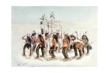 Chippewa Snowshoe Dance  C1835