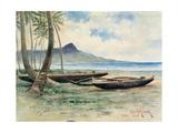 Diamond Head  Hawaii  1886