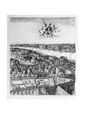 View of London  Published 1647 (Detail)
