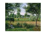 Morning  Sunlight Effect  Eragny  1899